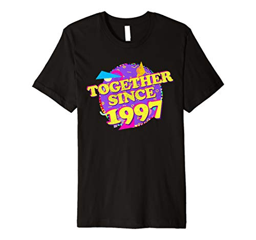 (Together Since 1997 90s Style 22nd Anniversary Shirt)