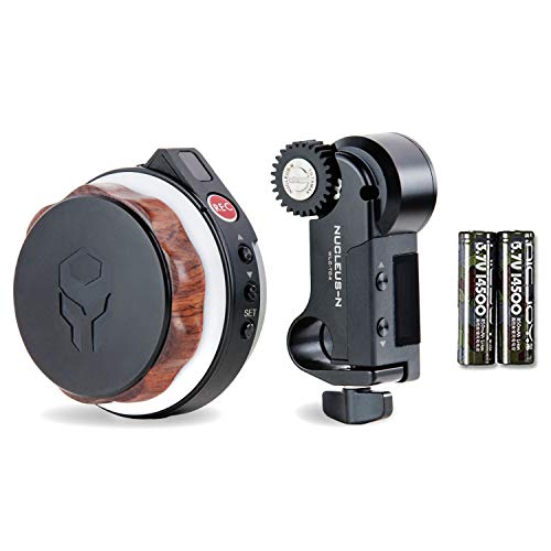 Tilta Nucleus-Nano Wireless Lens Control System for Most DSLR, Mirrorless, or Cine-Style Lenses on Cage, Gimbal Like Ronin S
