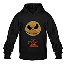 Baishop Men's The Nightmare Before Christmas Long Sleeve Sweatshirt Hoodies