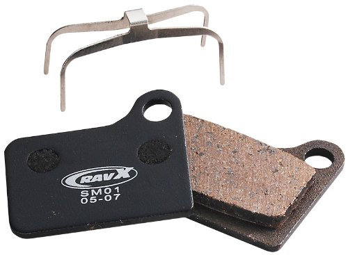 RavX Shimano Deore BR-M555/Nexave C910 Hydraulic Semi-Metal Disk Pads