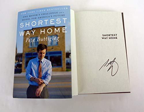Pete Buttigieg Mayor Indiana President 2020 Signed Autograph Shortest Way Home Book COA