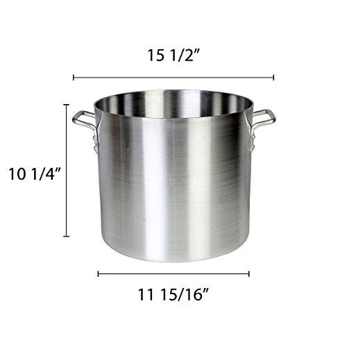 Thunder Group 20 Quart Aluminum Stock Pot by Thunder Group (Image #1)'