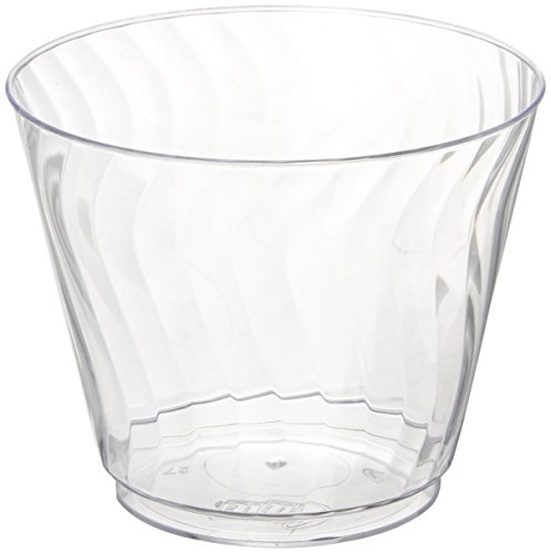 Crystal Cup (Chinet 100 CT 9 OZ Cut Crystal Plastic Cold Cups)