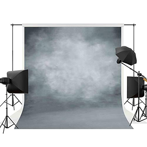 Allenjoy 5x7ft Abstract Gray Professional Photography Backdrop Digital