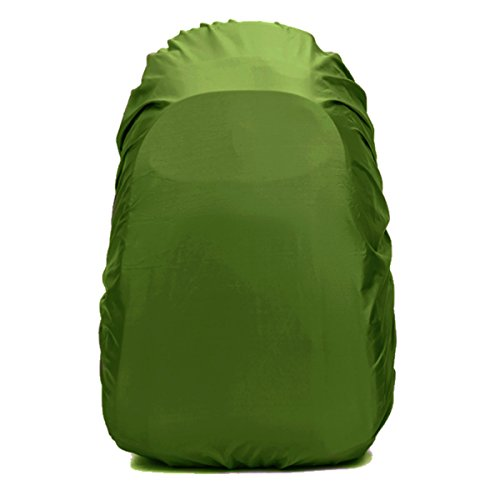 Frelaxy Waterproof Backpack Rain Cover for (15-90L), Upgraded Design & Silver Coated, for Hiking, Camping, Traveling, Outdoor Activities (Army Green, L) by Frelaxy (Image #1)