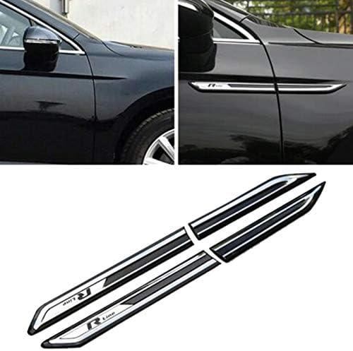 Facibom para Passat B8 Chrome coche lateral decoraci/ón etiqueta engomada coche Accesorios ajuste