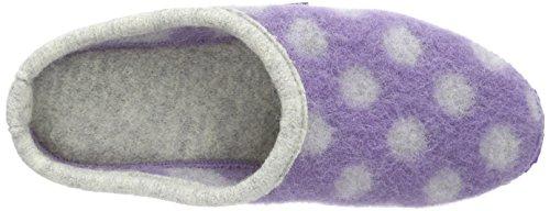GiessweinNeuhof - zuecos Mujer Morado - Violett (lila / 539)