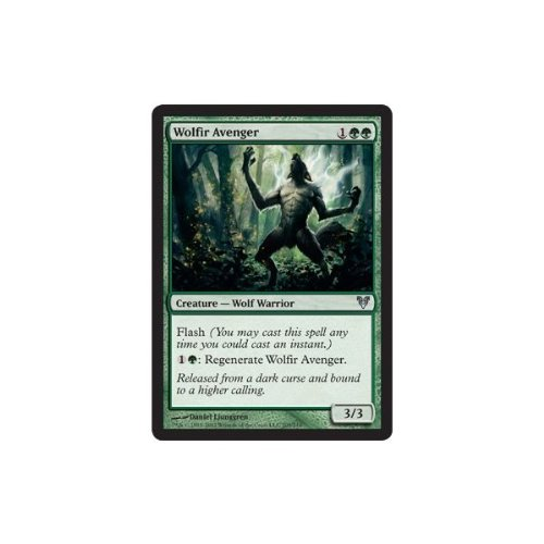 Magic: the Gathering - Wolfir Avenger (205) - Avacyn Restored