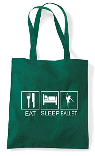 Activity Green Ballet Funny Shopper Tiles Tote Hobby Eat Dark Sleep Bag HOxBZZ