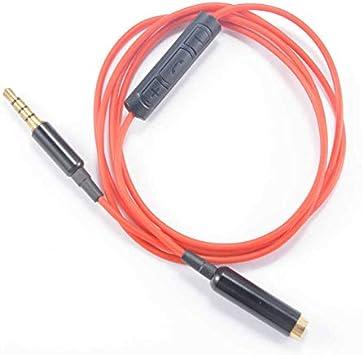 Adaptador de auriculares de 3,5 mm con 4 polos para audífonos ...