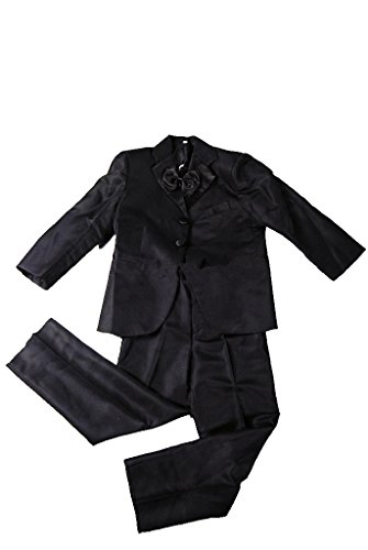 MLT Boy's 2 Pieces Custom Made Party Prom Wedding Suit Set (S) by MLT