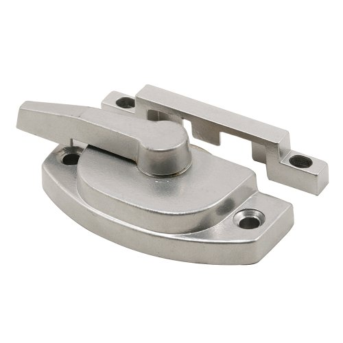 Prime-Line Products F 2762 Window Sash Lock with Keeper, Cam Action, Silver Finish ()