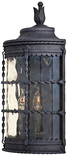 Minka Lavery 8887-A39, Mallorca, 2 Light Pocket Lantern, Spanish Iron - Mallorca 2 Light