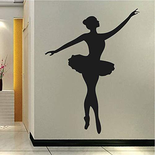 yaonuli Ballet Dancer Tatuajes de Pared Chica Dormitorio Pared ...