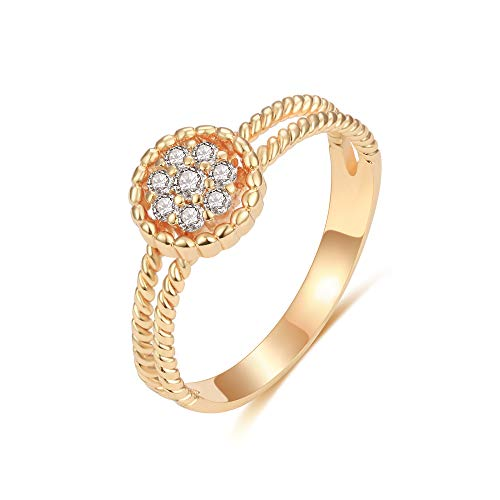 Mevecco Simulated Diamond Stackable Eternity product image