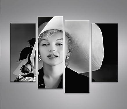 Quadro moderno Marilyn Monroe V7 Stampa su tela - Quadro x ...