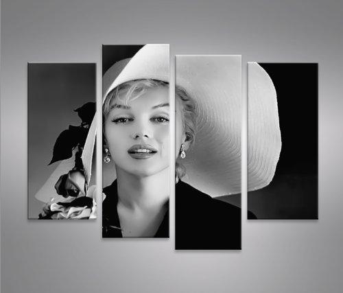 Quadro moderno Marilyn Monroe V7 Stampa su tela - Quadro x poltrone ...