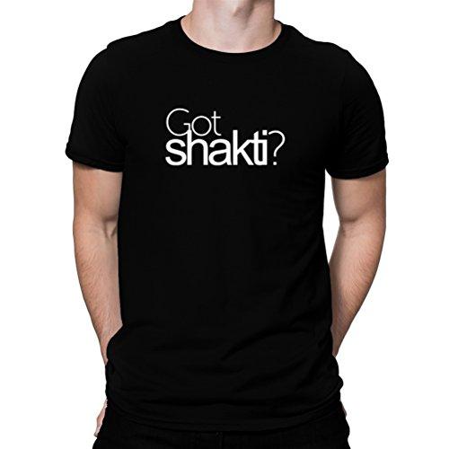 この慣れる名前Got Shakti? Tシャツ