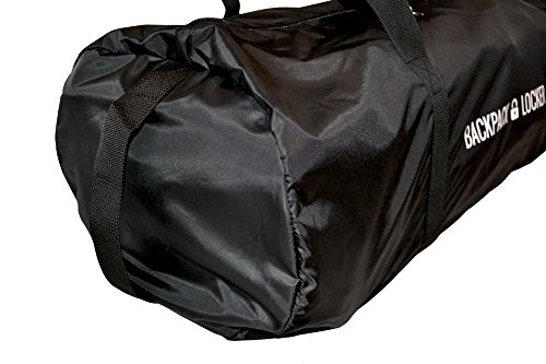 Bag Only Duffel Backapack Bag Lockable Transit Rucksack Litres Flight Lightweight Gratis Travel 365 grams Cover Backpack Locker 100 Padlock q0ET1qU