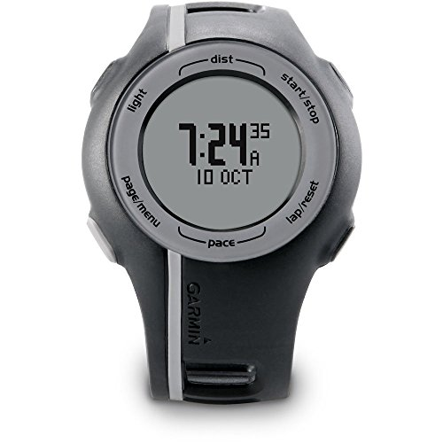 garmin-unisex-forerunner-110-gps-digital-display-sport-trainer-running-monitor-watch-black-gray-cert