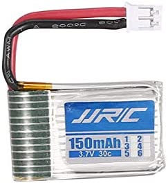HoganeyVan Original JJR//C 3Pcs 3.7v 150mAh 30C Lipo Battery with 3 in 1 USB Charger for H20 H20H RC Mini Helicopter Drone Quadcopter