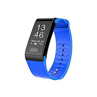 Blood Pressure Heart Rate Monitoring Fitness Bracelet Smart Sports Health Wristband for men women smartwatch Multi-color optional model Estimated Price £57.16 -