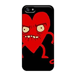 Awesome I Heart You Flip Case With Fashion Design For Iphone 5/5s