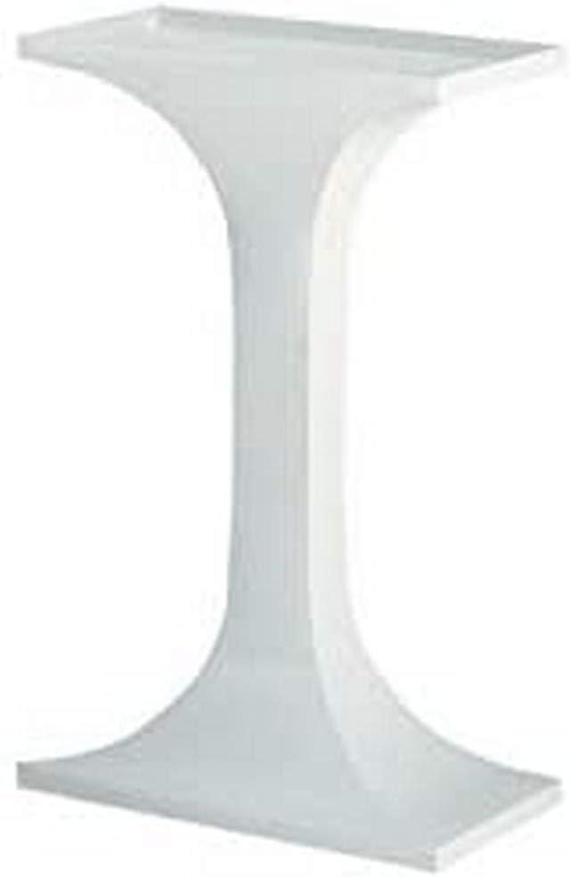 Voltrega 60B - Soporte rectangular de pie columna para jaula de aves, 25.00 x 47.00 x 73.00 cm (9.84