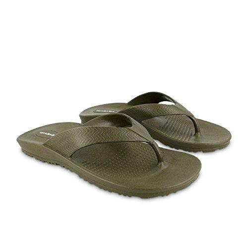 Okabashi Men's Surf Flip Flops - Sandals (Garden Knott)