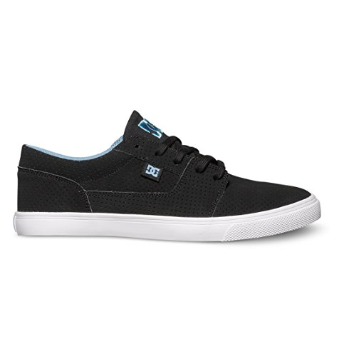 DC Women's Tonik W SE Skate Shoe, Black/Blue/Blue, 7.5 M US