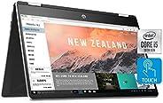 HP Pavilion x360 Convertible 14-inch FHD Touchscreen 2-in-1 Laptop, 10th Gen Intel Core i5-1035G1, 8 GB RAM, 5