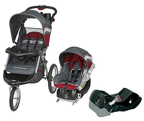 Baby-Trend-Expedition-ELX-Jogger-Travel-System-Extra-Car-Seat-Base