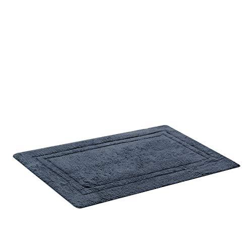 Tapete Para Casa Buddemeyer Elegance Azul 50cmx80cm 100% Algodão com Base Antiderrapante