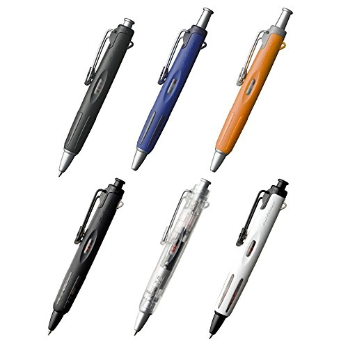 New Japan Tombow Airpress Technology 0.7mm Ball Point Pen, Black Color Transparent