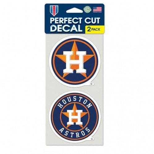 Wincraft 3208584757 Houston Astros Decal - Die Cut - Set of 2