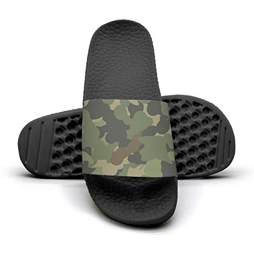 U.s army green netting Mens Outdoor Shower Slides Casual Slipper Fashionable Sandals