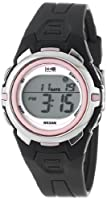 Timex Women's T5K6839J 1440 Sports Digital Mid-Size Gray and Pink Resin Watch from Timex