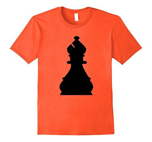 Mens Chess Piece Group Costume Shirt - BISHOP (black) Medium (Group Halloween Costumes Workplace)
