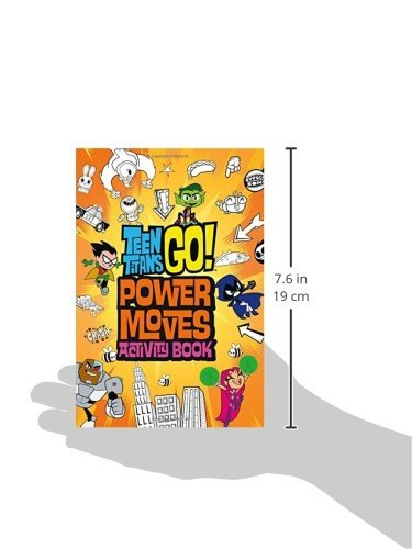 Teen Titans Go Power Moves Activity Book - Import It All-5408