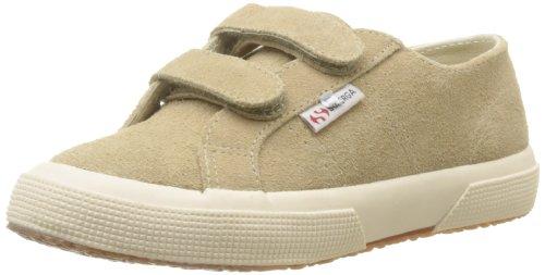Superga 2750-SUEVJ S0038L0 - Zapatos bajos de cuero para Beige (238 Beige)