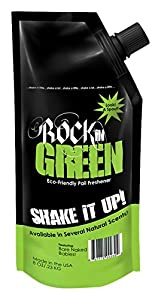Rockin Green Shake it Up Pail Freshener - Bare Naked Babies unscented8 oz/23kg