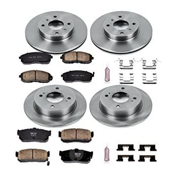 Autospecialty KOE2750 1-Click OE Replacement Brake Kit