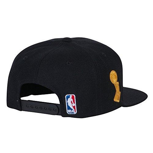 Cleveland Cavaliers Black 2016 NBA Finals Champions Locker Room Champs Snapback Hat / Cap