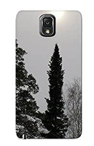 [elhfed-3386-comikgf] - New Trees Nature Plant Tree Woods Protective Galaxy Note 3 Classic Hardshell Case