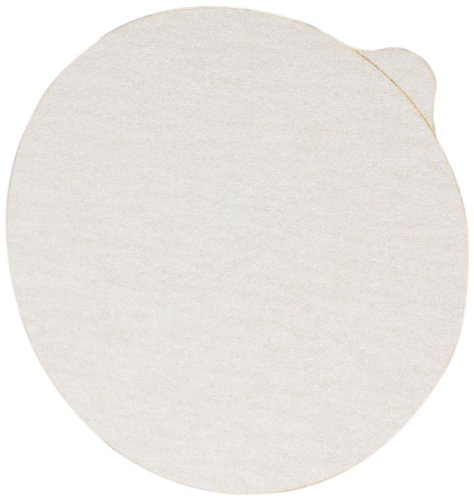 Pack of 50 Aluminum Oxide White 3M NX PSA Paper Disc with Tab P400 Grit 5 Diameter 5 Diameter NX Disc