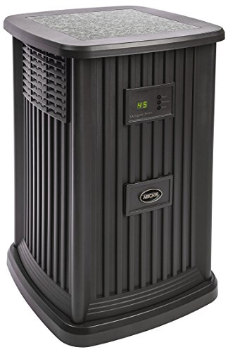 Whole House - AIRCARE EP9 800 Digital Whole-House Pedestal-Style Evaporative Humidifier, Espresso
