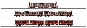 Märklin 47026  - Madera Trolley Set DB (5 Roos madera tipo trolley 639)