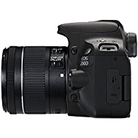 Canon EOS 200D Rebel SL2 Kit with EF-S 18-55mm f/4-5.6 IS STM Lens Digital SLR Cameras (Black) - Deal-Expo Kit