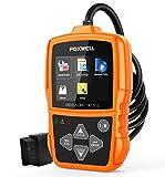 FOXWELL NT201 OBD2 Scanner Auto OBD II Diagnostic Scan Tool Check Car Engine Light Fault Code Reader Orange