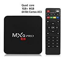 MLIUS MXQ PRO 4K Android 5.1 TV Box Amlogic S905 Quad Core HDMI H.265 WIFI Set Top Box IPTV Media Player